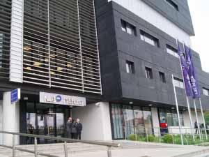 Advanced Kosovo bank hq